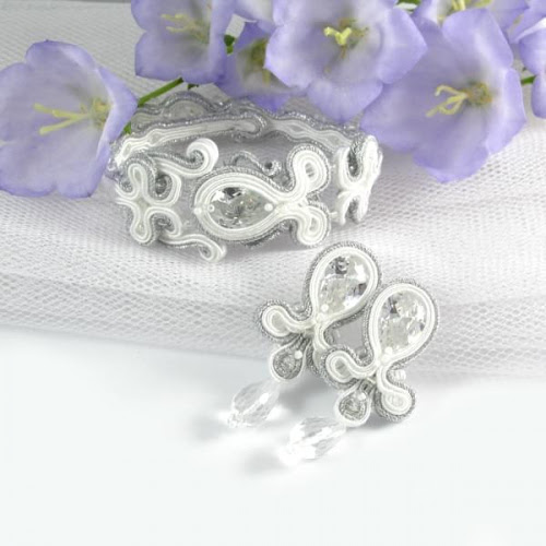Soutache bridal set