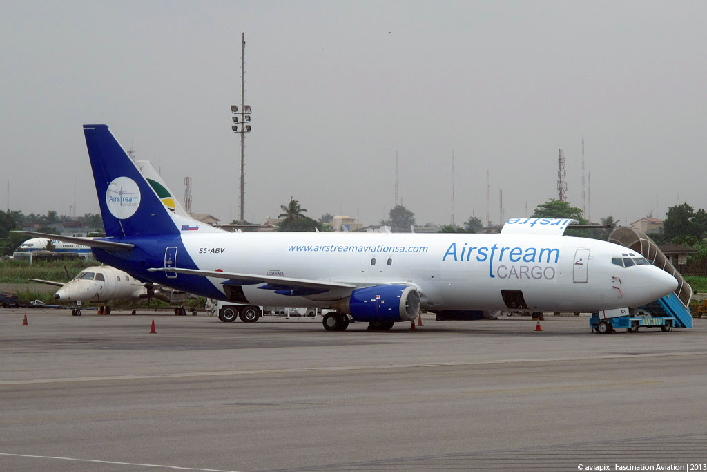 Airstream Aviation's leased B737-400F