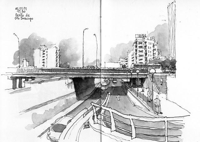 Málaga, Pasillo de Santo Domingo