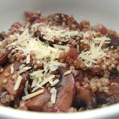 """Quinoa & Mushroom """"Risotto"""""""
