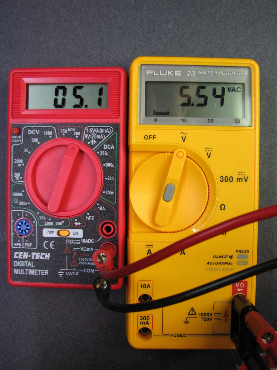 HF Cen-Tech Multimeters | Mr. ModemHead