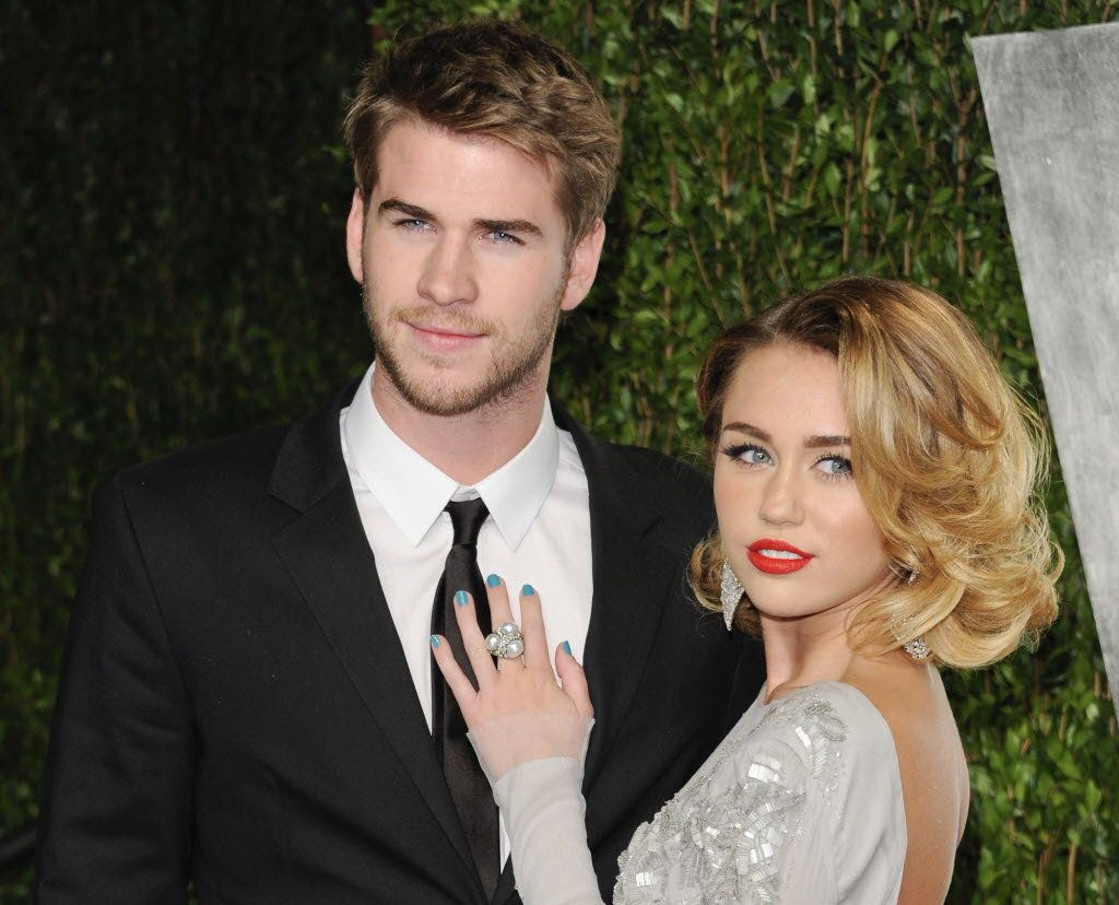 Liam Hemsworth & Miley Cyrus, Liam Hemsworth, Miley Cyrus