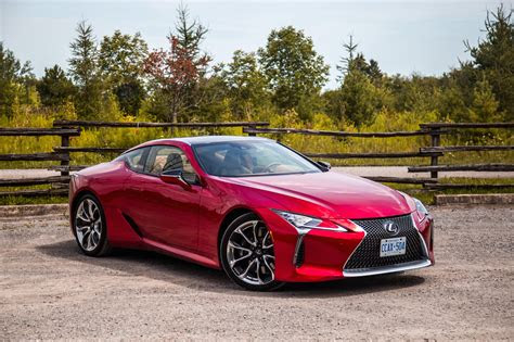 review  lexus lc  canadian auto review