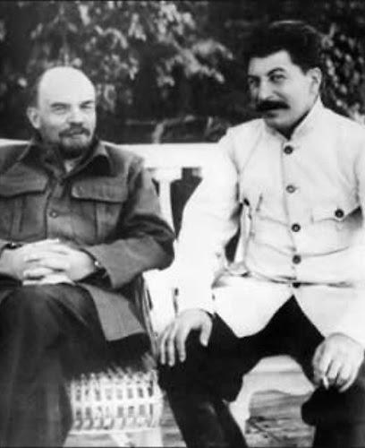 Vládimir Lenin y Joseph Stalin
