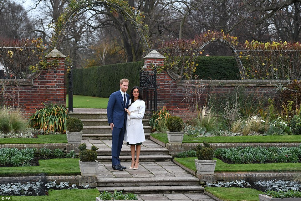 The garden was a favourite of his mother Diana's, who lived there until her death 20 years ago