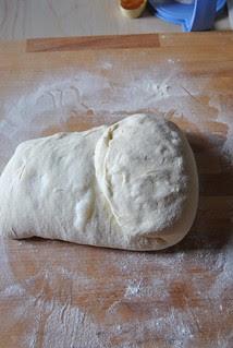 Semolina flour sourdough bread