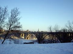 Ford Parkway Bridge over Mississippi River