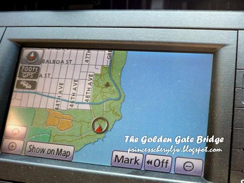 golden gate bridge GPS