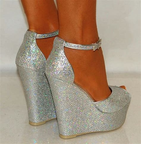 Best 25  Silver wedges ideas on Pinterest   Silver wedge