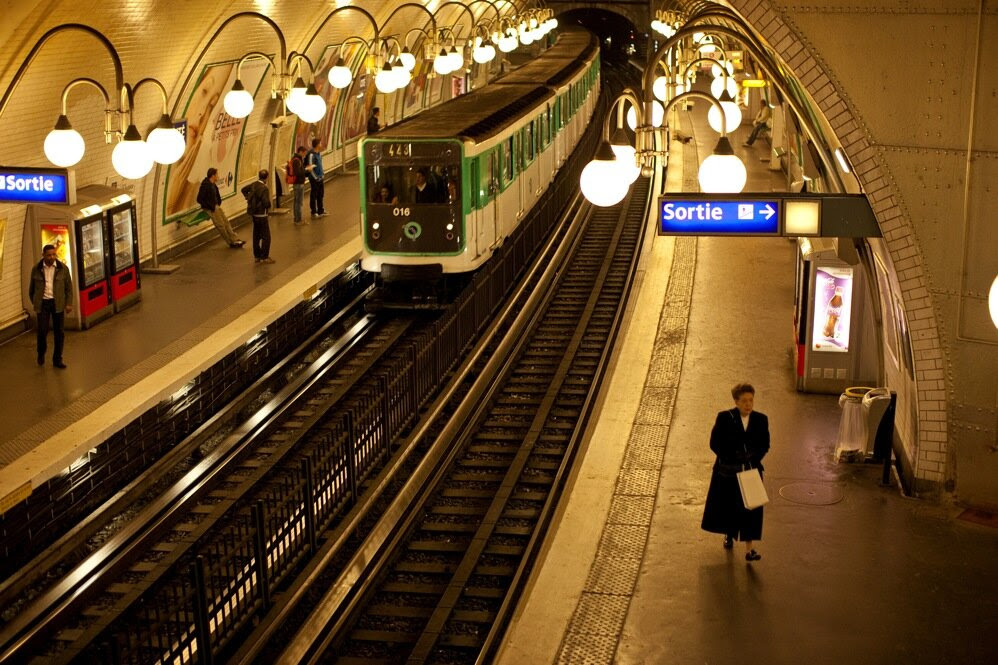 The Cite Metro station on Ile de la Cite serves monuments such as the Notre-Dame de Paris, and crosses under the Seine on both sides. The Paris metro is the second busiest in the world after Moscow.
