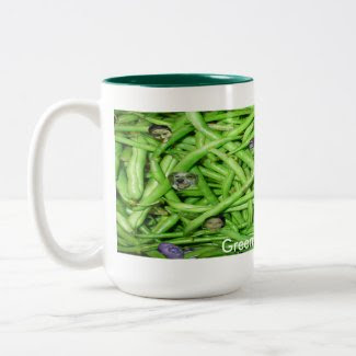 Green Bean Heads! mug
