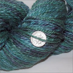 Lake Michigan handspun, close up