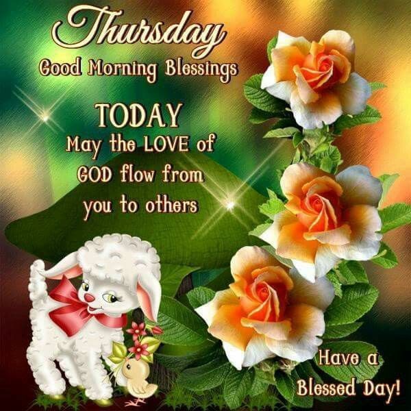 Thursday Good Morning Blessings Pictures Photos And Images For
