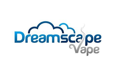 bold masculine cigarette logo design  dreamscape vape