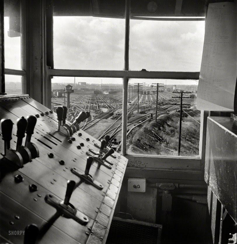 Retarder Tower: 1942