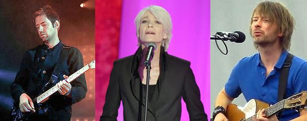 Ed O'Brien - Françoise Hardy - Thom Yorke