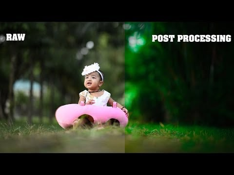 Post Processing in Camera Raw | Pre wedding | Outdoor | Baby Shoot