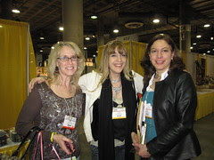 CHA Day 2: Pam, Me and Joy!