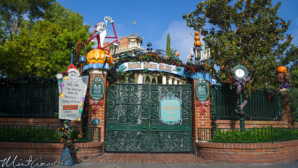 Disneyland Resort, Disneyland, Haunted Mansion, Holiday