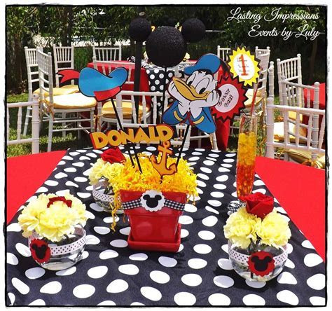 Mickey Mouse Birthday Party Ideas   Photo 10 of 57   Catch