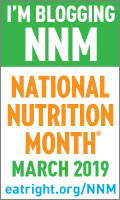I'm Blogging National Nutrition Month