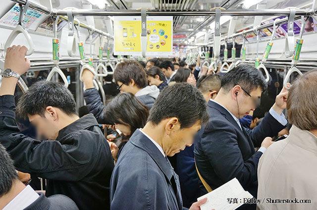 満員電車内のヒエラルキー漫画家のイラストに共感の声東京怖い