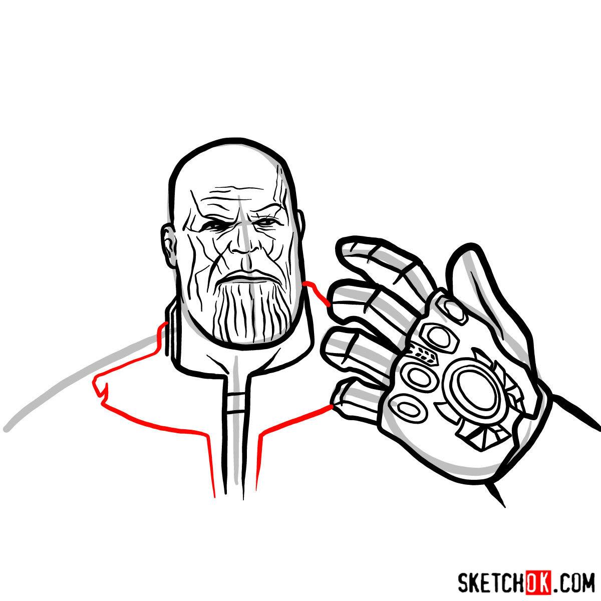 Coloriage A Imprimer Avengers Infinity War Wwwpapedelcacom