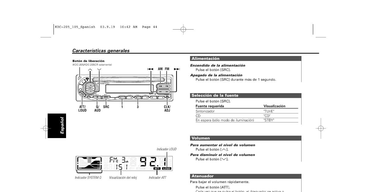 35 Kenwood Kdc Mp242 Wiring Diagram