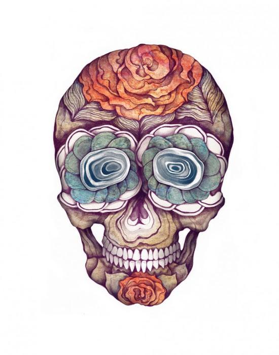 Калавера (символ Дня мертвых).