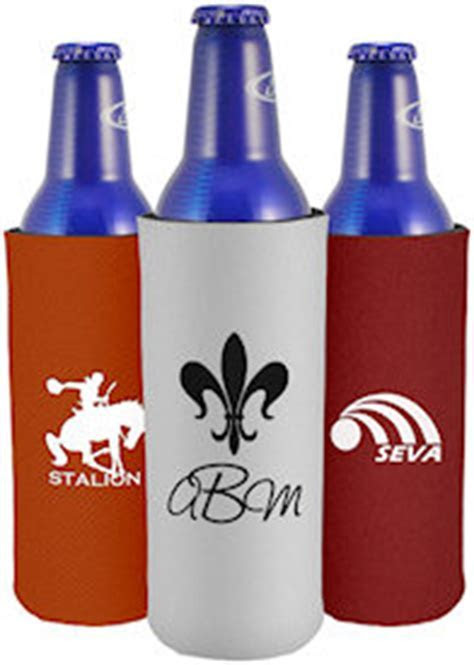 Aluminum Bottle Can Coolies   Custom Koozies   Cheap