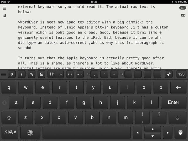 Wordever Hd For Ipad Reinvents Keyboard Reinvents Touch