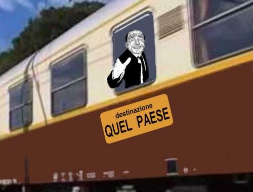 satira,attualità,berlusconi,viaggio in treno,buon anno cavaliere...,
