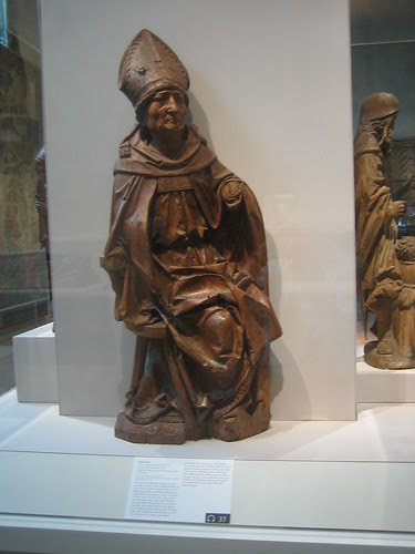 Seated Bishop, Germany, Lower Franconia, Würberg, c. 1495-1500 _7821