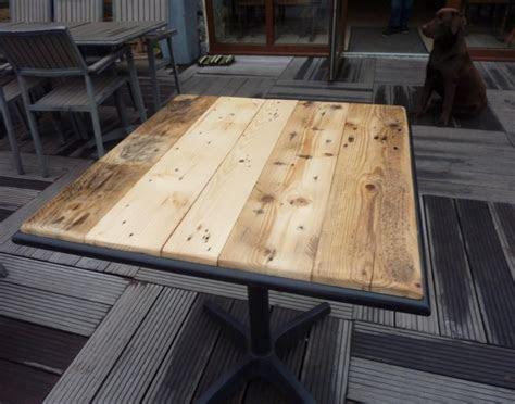 palettes de table en plein air pallet ideas