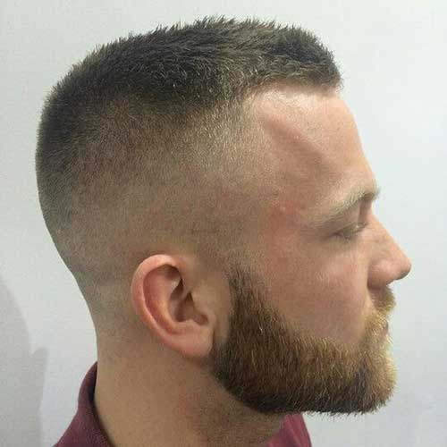 Short Army Haircuts For Men 12