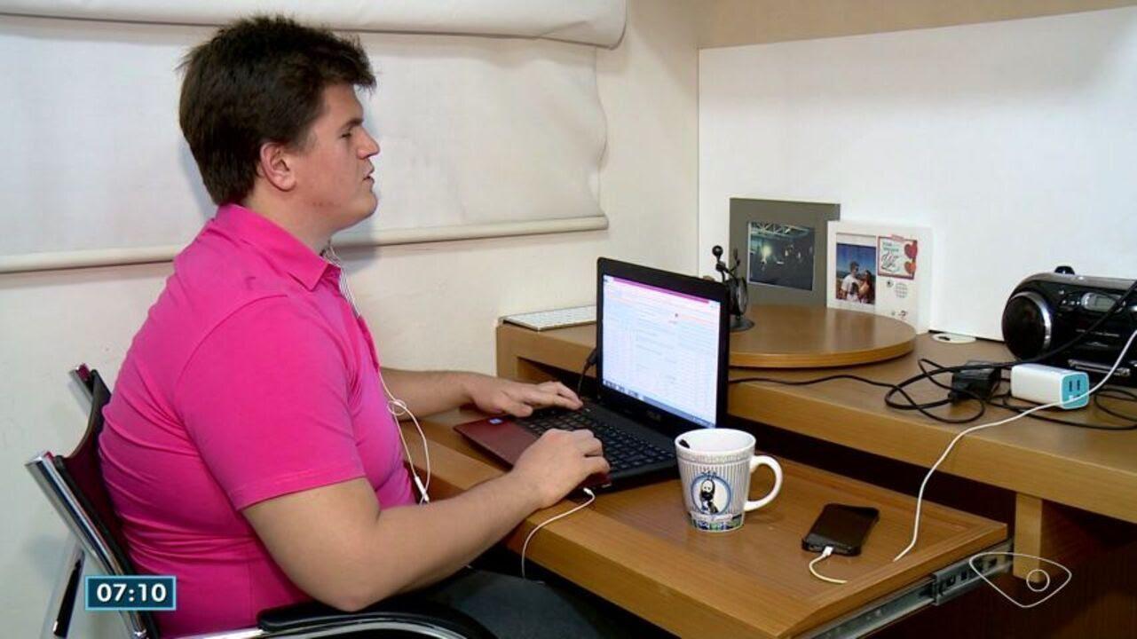 Resultado de imagem para Deficiente visual do ES é aprovado em três universidades da Inglaterra