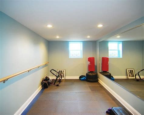 spaces small home gyms design pictures remodel decor