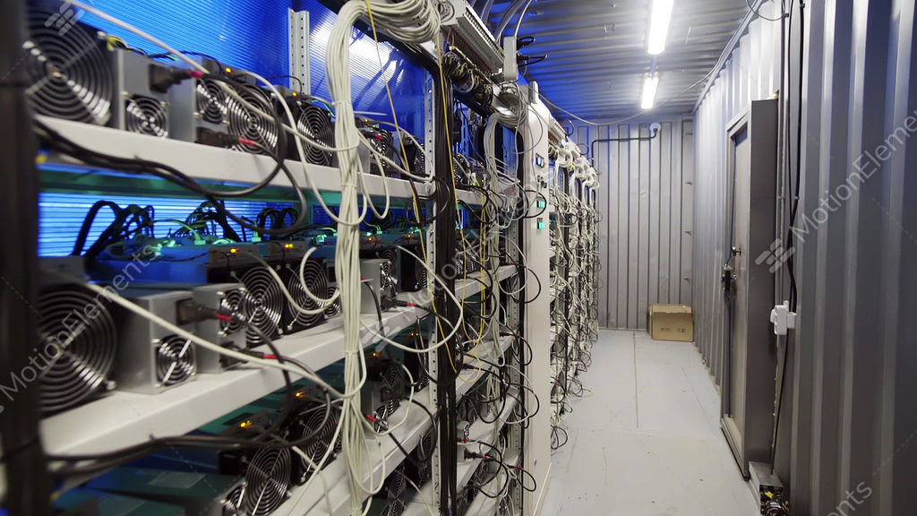 Bitcoin Mining Room | How To Make Bitcoin Online Wallet