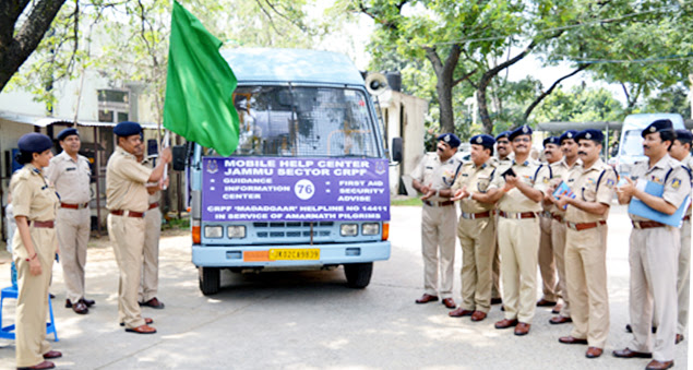 CRPF launches mobile help centre 'Saathi' for pilgrims