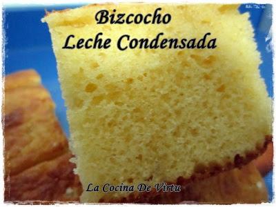 Receta thermomix Bizcocho Leche condensada.