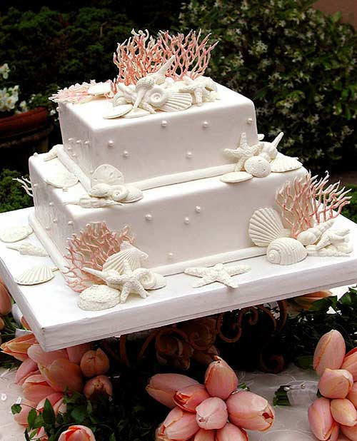 Gallery Of Summer Wedding Cakes
