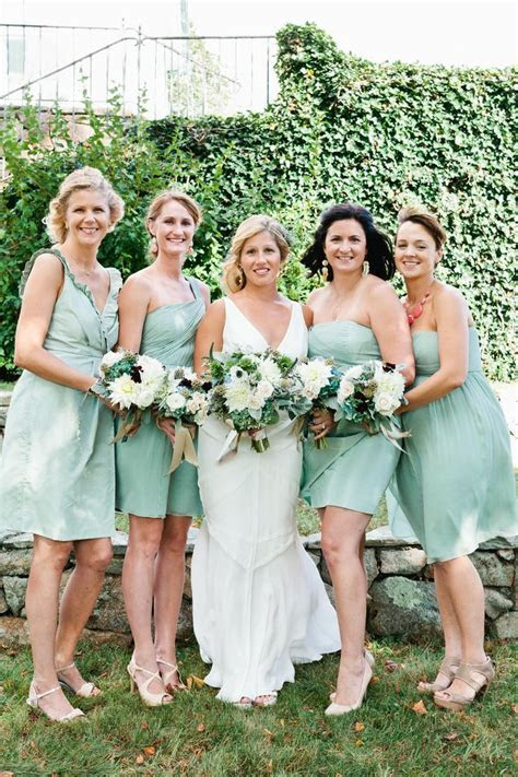 Mint bridesmaids, Mint bridesmaids dresses,