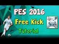 PES 2016 Exclusive New Free Kick Tricks
