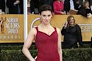 Actress Idina Menzel arrives at the 19th annual Screen Actors Guild Awards in Los Angeles