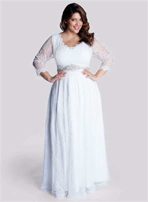 Advice for Shopping Simple Plus Size Wedding Dresses