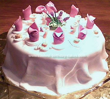 This was my Bridal Shower cake made for a special bride