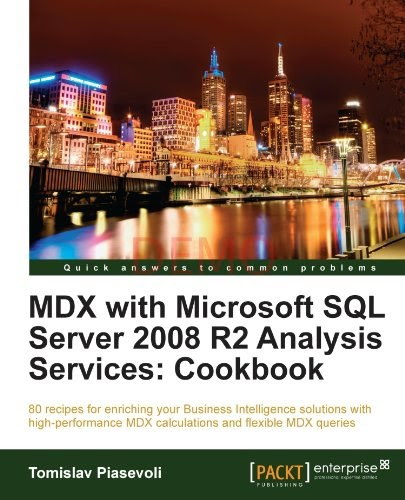 [PDF] MDX with Microsoft SQL Server 2008 R2 Analysis Services Cookbook Free Download