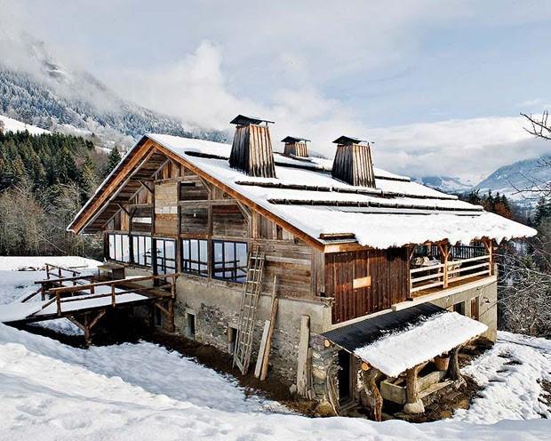 Vogue Дом в Альпах 1