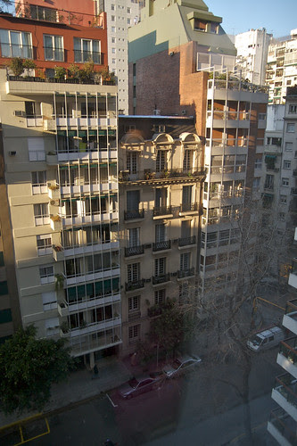 Our Temporary View in Buenos Aires