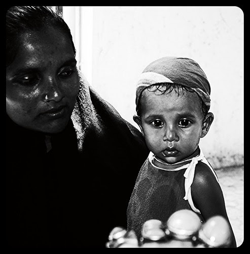 Mama I Am Scared Of This Man With The Rings by firoze shakir photographerno1